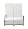 Sabrina White Loveseat