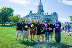Kelser at the 2015 Walk to End Alzheimer's
