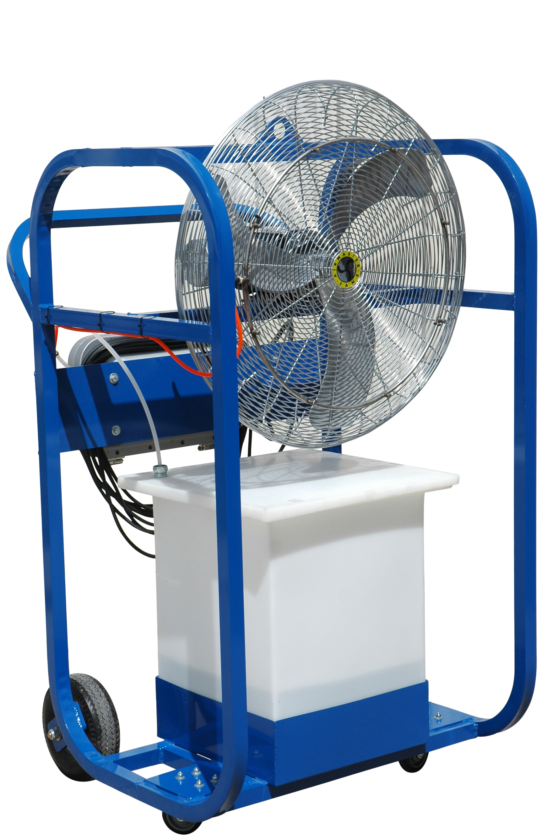 explosion proof portable air chiller with 32 gallon water tank