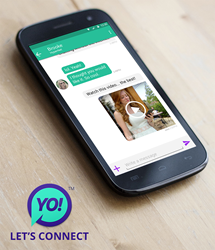 YO Off-grid Messaging and Content Sharing