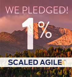 Scaled Agile Joins EFCO and Pledge 1% Campaign