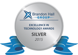 Skillsoft Wins 2015 Brandon Hall Group Excellence in Technology Awards