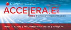 LexisNexis InterAction Law Firm Business Development Conference