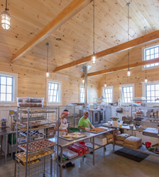 Feuer Lumber supplied Eastern White Pine to the team at Windhill Builders.