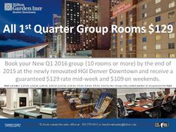 1st Quarter HGI Denver Downtown Promotion