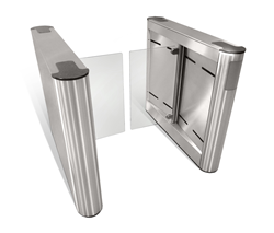 Fastlane Glassgate 250 speedgate for lobby security