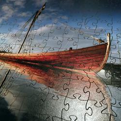 Ship Denmark Wooden Jigsaw Puzzle