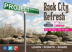 Image: Rock City Refresh - A renovation project sponsored by G.L. Huyett's Project Drive
