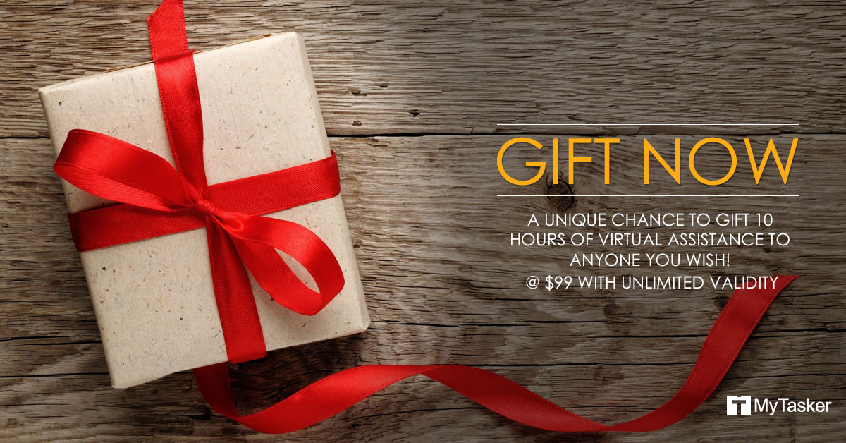 """December Special: MyTasker offers """"Gift of Time"""" this Gifting Season"""