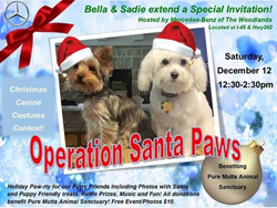 """Operation Santa Paws"" brings Christmas fun to dogs & their owners on Dec. 12"