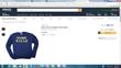 Work Kills Amazon sweatshirt screenshot