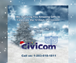 "Civicom® Launches ""12 Days of Civicom"" Holiday Deals Campaign"