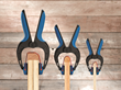 Rockler Adds Two New Sizes of Bandy Clamps - Revolutionary Clamps Apply Even, Non-Marring Pressure to Edge Profiles and Other Shapes