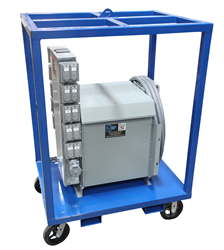Heavy Duty Power Transformer Substation that Converts 480V to 120V