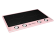Big Chill Retro Induction Cooktop in Pink Lemonade