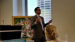 AmSpa founder Alex Thiersch presents during Chicago's Medical Spa Boot Camp in 2015.