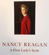 "Rush Jenkins of WRJ Design in Jackson Hole designed the book ""Nancy Reagan—A First Lady's Style"" as catalogue to accompany the Reagan Library exhibition."