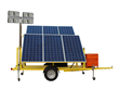 120 Watt Pneumatic Light Mast Powered by a 1.5KW Solar System