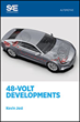 New SAE International Book Explores Developments in the Next Step in Mild Hybrid Vehicles – 48-Volt Technology