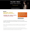 Falcon + Wolf Content + Strategy
