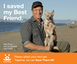 Mike Rowe for I Saved My Best Friend campaign