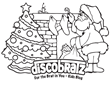 DiscoBratz Releases Holiday-Themed Coloring Page Featuring the Man in Red