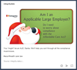 Santa Stars in Integrity Data's Effort to Make Employers Aware of Health Care Law