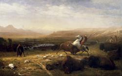 The Last of the Buffalo by Albert Bierstadt, 1889