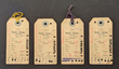 Ration cards from the Wind River Indian Reservation in Wyoming, 1905