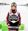 Monster Energy's Cassie Sharpe Takes Second Place in Women's Ski Superpipe | Dew Tour Breckenridge