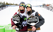Monster Energy's Cassie Sharpe and Brita Sigourney