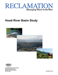 Hood River Basin Study Cover