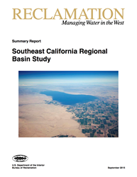 Southeastern California Basin Study Report Cover