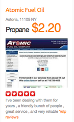 Easy to research and compare Propane & Heating Oil Prices
