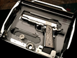 Cabot Pistol with Meteorite Grips