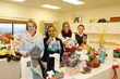 Students assist with the Holiday Raffle at The Glenholme School.