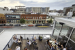 A rooftop patio overlooking LoDo's vibrant Ball Park district is a key feature of Arch11's renovation of a historic pawn shop into a modern urban gastro pub for Ignite!  (Photo: courtesy of Arch11)