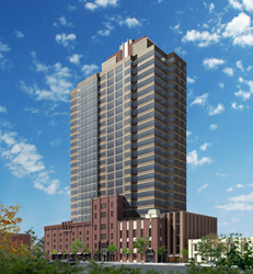 One Rector Street, developed in partnership with O'Neal and New Brunswick, NJ-based Boraie Development, a partnership which gave Newark its renovated movie theater with 3-D capabilities, CityPlex12, is a $65 million redevelopment project that will bring t