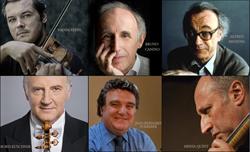 Vadim Repin, violin; Bruno Canino, piano; Alfred Brendel, piano; Boris Kuschnir, violin; Jean-Bernard Pommier, piano; Misha Quint, cello