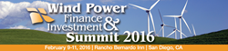 The annual Wind Power Finance & Investment Summit continues to be the best event for the wind power industry.