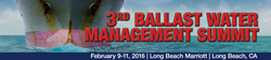 Infocast's 3rd Ballast Water Management Summit 2016