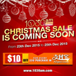 Singapore Online Shopping 1030AM.COM to Collaborate with Alipay for Christmas Sales
