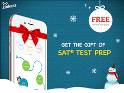 SAT Prep App Free For The Holidays