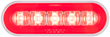 STL112RB, STL112RB mirrored reflectors, STL112RB 6-inch oval tail light image
