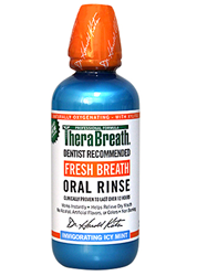 TheraBreath oral rinse mouthwash