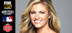 Erin Andrews - Official Emcee of the 2016 Players Super Bowl Tailgate