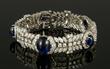 Platinum Art Deco Bracelet