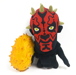 Intergalactic cousins: Kiwano Horned Melon and Darth Maul