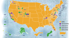 2016 VA Loan Limits Map iFreedom Direct