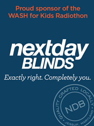 Proud Sponsor of the WASH for Kids Radiothon